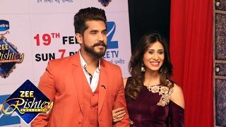 Kishwer Merchant & Suyyash Rai At ZEE Rishtey Awards 2017
