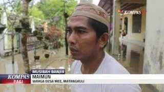 Banjir Terjadi Pasca Guyuran Hujan Intens