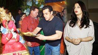 Salman Wont Do Ganpati Puja At Home This Year, Aishwarya At Manish Malhotra's Birthday Bash
