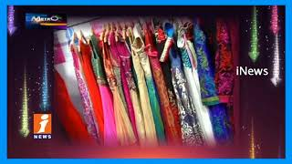 Public Busy In Festive Shopping For Dussehra &bathukamma In Hyderabad | Metro Colours | iNews