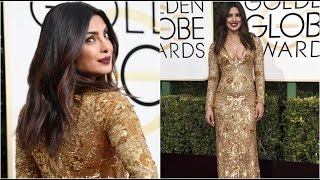 Priyanka Chopra's Hot & Sexy avatar at Golden Globe Awards