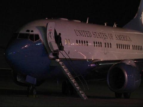 Raw- North Korean Detainee Back in Ohio News Video