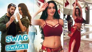 Ex Bigg Boss Contestant Nora Fatehi's Belly Dance On Salman's Swag Se Swagat | Tiger Zinda Hai