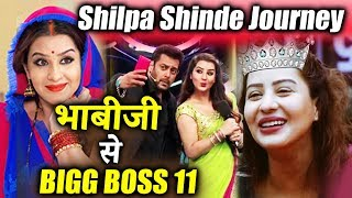Shilpa Shinde's AMAZING Journey From Bhabiji Ghar Par Hain To Bigg Boss 11