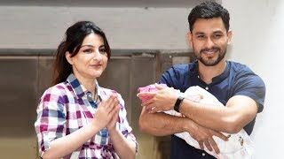 Soha Ali Khan, Kunal Khemu's Daughter Inaaya Naumi Khemu - FIRST PICTURE