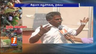 No Vegetables Buyers In Markets | Notes Ban Troubling  Farmers | iNews
