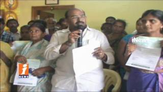 TDP MLA Ramakrishna Distributes CM Relief Fund cheques In Venkatagiri | Nellore | iNews