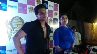 Couple Prince Narula & Yuvika Chaudhry At Vikas Gupta Birthday Bash 2017
