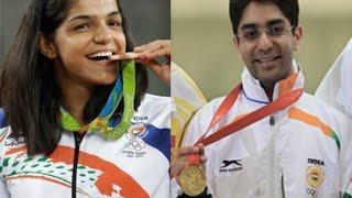 Abhinav Bindra asks Sakshi Malik to keep focus