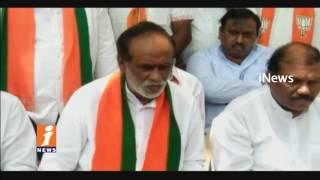 Telangana BJP President Laxman Fires On CM KCR Over & Double Bedroom Scheme | iNews
