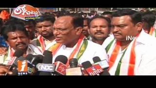 Why Congress Leaders Highlights MP Gutha Sukender Reddy Illegal Assets | Loguttu | iNews