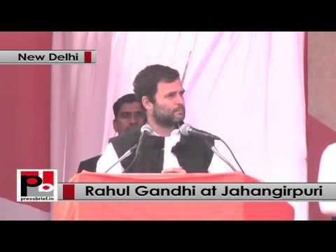 Delhi polls- I will fight for poor till my last breath, says Rahul Gandhi at Jahangirpuri