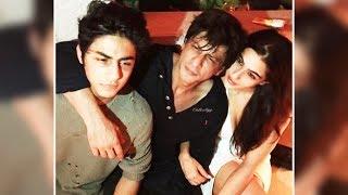 Shahrukh Khan With Son Aryan & Sara Ali Khan At Karan Johar's Birthday Party