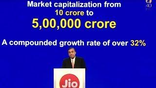 RIL market-cap soars 50,000 times in 40 years- Mukesh Ambani