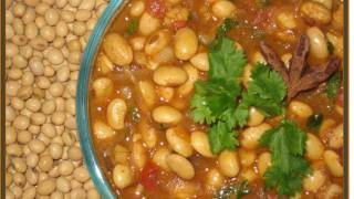 How to Make Soya Bean Curry - Vegetarian Indian Food Recipes
