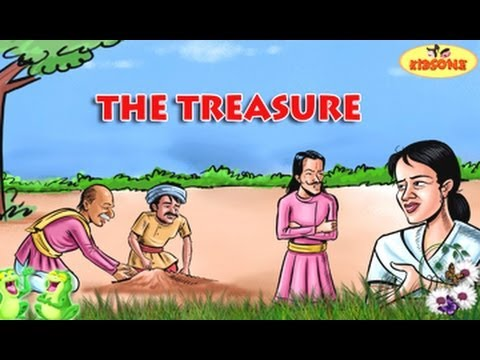The Treasure - Old Man and His Son - English Moral Story For Kids