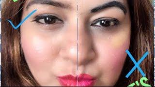 Makeup Mistakes & How to Correct them | सही तरीक़े से मेकप करें । Makeup-Do's & Dont's | JSuper Kaur
