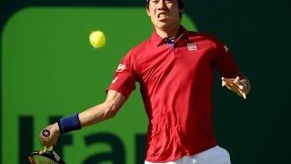 Kei Nishikori Faces Nick Kyrgios in Miami Open Semifinal - Sports News Video