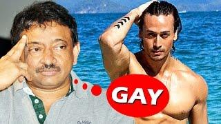 Tiger Shroff Looks Like Gay & BIKINI Babe - Ram Gopal Varma