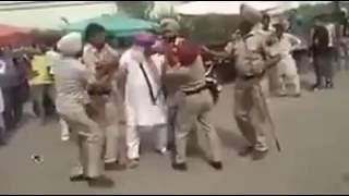 somewhere in punjab | punjab police ke saath bhidaa sikh bandook waala