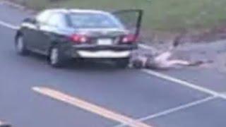 Surveillance Video Shows Daring Abudction Escape