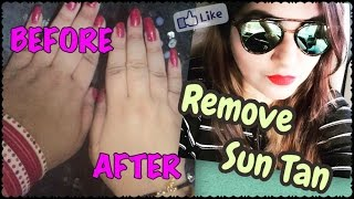 How to Remove Sun Tan Naturally Instantly | Skin Whitening home Remedy 100% Effective | JSuper Kaur