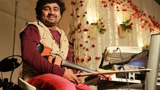 'Raree Rariram' Abhijith P S Nair on Violin Live With His fusion Band