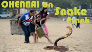 Snake Prank on Chennai | Prank in india | Tango tube