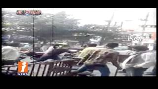 Rowdy Sheeters Hulchul In Hyderabad City, Beats Innocent People | Be Careful | iNews
