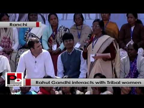 Rahul Gandhi- Tribal women are also not empowered properly