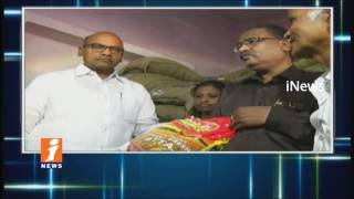 Minister Prathipati Pulla Rao Sudden Inspection On Ration Shops In Vijayawada | iNews