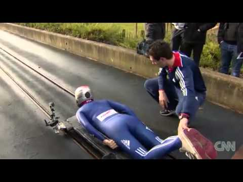 "Skeleton Racing ""Don't Try This at Home! News Video"