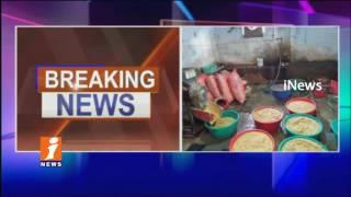 SOT Police Raids On Fake Chili Powder And turmeric Powder Manufacturing Unit In LB Nagar | iNews