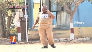 Police Dies Due To Heavy Training For Promotions In Karimnagar Training Center | Be Careful | iNews