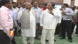 Yanamala Rama Krishnudu and Ministers Inspects New Assembly In Amaravati | iNews