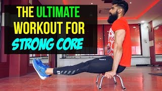 Calisthenics CORE Workout ►L Holds, Handstands and Crazy Shit◄
