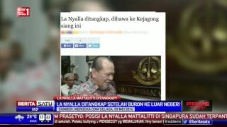 Kembali ke Indonesia, La Nyalla Dikabarkan Ditangkap Kejagung