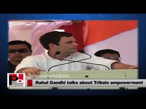 Rahul Gandhi wants more representation of Adivasis youth in governance