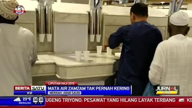 Air Zamzam Masih Menjadi Oleh-oleh Favorit Jemaah Haji