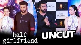 Half Girlfriend Trailer Launch | FULL HD Video | Arjun Kapoor, Shraddha Kapoor