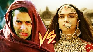 Tiger Zinda Hai Vs Padmavati BOX OFFICE Clash, Padmavati Trailer CREATES History