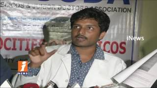 PG Medical Students Comments On AP Govt In Vijayawada Over GO 99 Issues | iNews