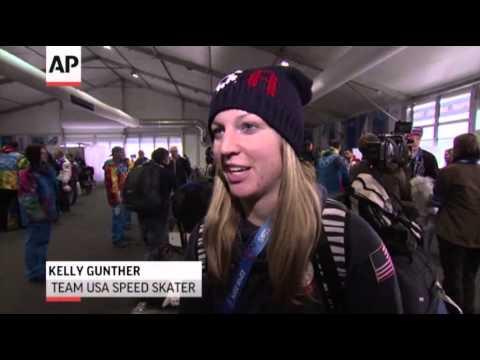 U.S. Athletes Arrive in Sochi News Video
