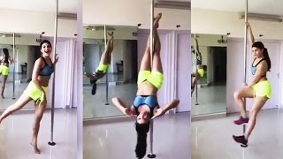 Jacqueline Fernandez Shares $exy POLE WORKOUT Video - World Health Day