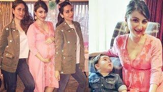 Soha Ali Khan's BABY Shower - Taimur With Mummy Kareena
