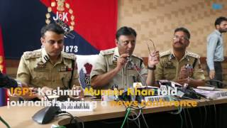UP resident Sandeep Kumar, a close aide of Bashir Lashkari, arrested in Kashmir- IGP