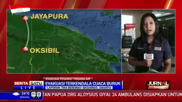 Basarnas akan Gelar Konpers Evakuasi Korban Trigana Air