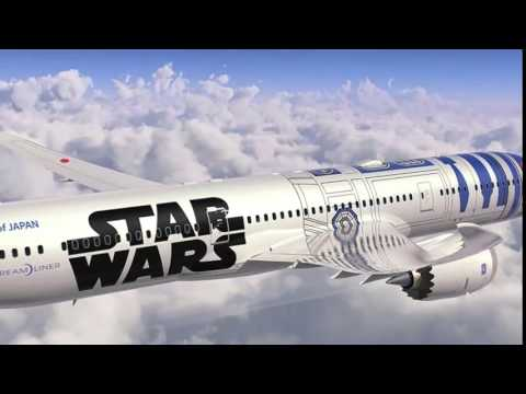Star Wars plane being launched by All Nippon Airways later this year News Video