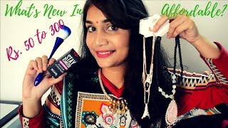 What's New in Affordable?? Makeup and more Rs. 50 to Rs. 300 | Nidhi Katiyar