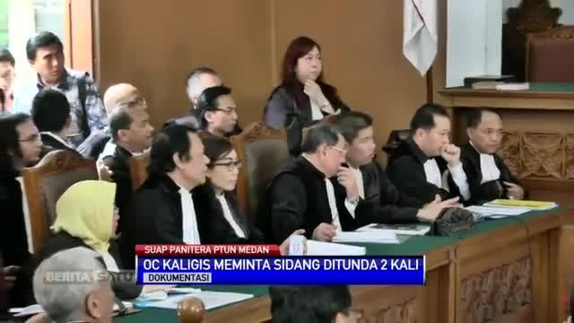 Sidang Perdana OC Kaligis Kembali Digelar